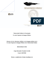 Tesis Lic. Alex Castillo, Consultor Imagen Pública