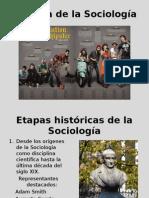 Historia de La Sociología