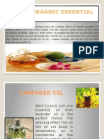 Top 5 Organic Essential Oils