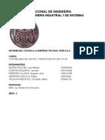 Informe 1 - Costos