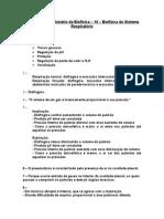 Gabarito - Quest 10 - Biof Do S Respiratório