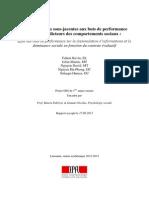Rapport Valorisation Prix SHS Psychologie Sociale MA NSommet FButera