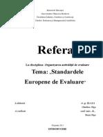 Standardele Europene de Evaluare