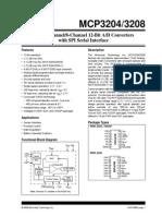 Adc Mcp3204 Cip