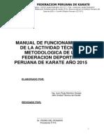 Manual de Funcionamiento de La Actividad Técnico