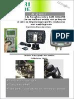 Autoghidare GPS pentru agricultura / AutoguidageRO TEST