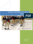 Political interference in police department