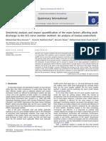 Sensitivity Analysis and Impact Quantification of the Main Factors Affecting Peak