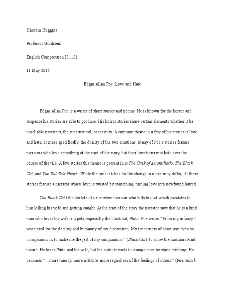 Persuasive essay on the tell tale heart   ipgproje com