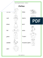 Dictionary Clothes Debizenglish Dcl
