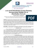 Loss of distribution