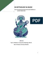 Indian Mythology and Music