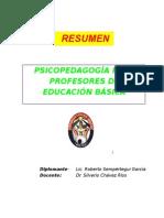 PSICOPEDAGOGÍA PARA PROFESORES DE EDUCACIÓN BÁSICAPSICOPEDAGOGÍA PARA PROFESORES DE EDUCACIÓN BÁSICA