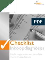 Checklist Inkoopdiagnose Pia 2005