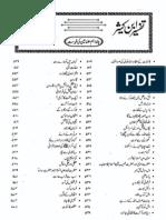 The Famous Book of Tafseer-E-Quran-----Tafseer Ibn-E-Kaseer in Urdu Para # 20
