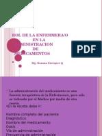 Rol de Enf. Adm de Medicamentos 2012