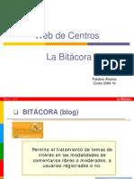 Web de Centros La Bitácora