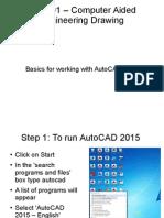 AutoCAD 2015 PPT