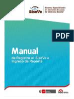 Manual Usuario Reporte siseve