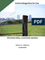 Revista Eletrônica Bragantina On Line - Maio/2015