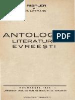 Antologia Literaturii Evreesti