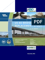 Need for new bridges at Bull River, Lazaretto Creek - 2012 report
