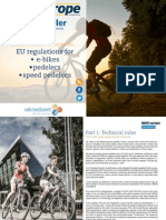 Bike Europe Whitepaper Speed e Bike Regulations 2