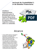 Norma Internacional de Contabilidad ESTADOS FINANCIEROS (1)
