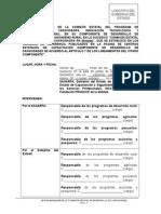 Propuesta Acta Instalacion Comisión Estatal