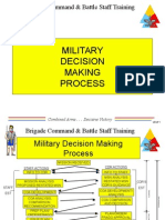 Military Decision Making
