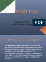 Una Centralita Electrónica Es Un Dispositivo Electrónico