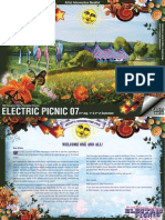 Electronic Artist Booklet Electric Picnic 2007