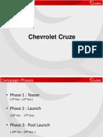 Chevrolet Cruze Case study