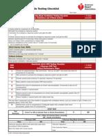 Acls Skills Testing Checklist