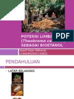 Bioetanol kulit kakao