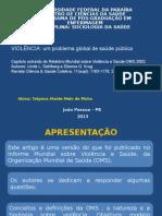 _Seminário Sociologia- Violência