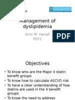 Management of Dyslipidemia