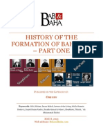 History of Formation of Baha'ism - Part One