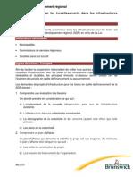 SDR Politique - Investissements Infrastructures Pour Loisirs - Mai 2015