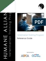 Vet Reference Guide
