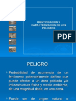 Caractrizacion Del Peligro