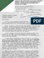 Delbert Stapley Letter on Race