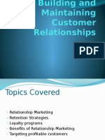 A2 Building and Maintaining Customer Relationships