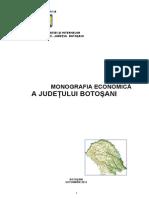 Monografia Economica a Judetului Botosani