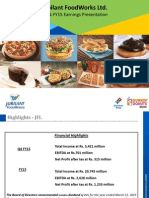 Jubilant FoodWorks Q4FY15 Results Presentation