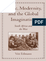 Veit Erlmann Music_ Modernity_ and the Global Imagination- South Africa and the West 1999