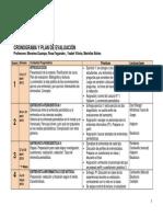Cronograma Periodismo II 2015-I