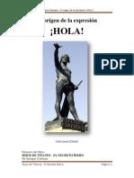 El origen de la expresión ¡HOLA!