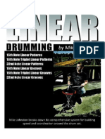 Linear Drumming by Mike Johnston
