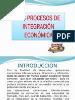 Los Procesos de Integracion Economica